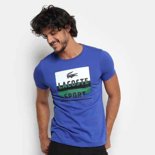 31e28f8798f07 Camiseta Lacoste Masculina - Compre Agora