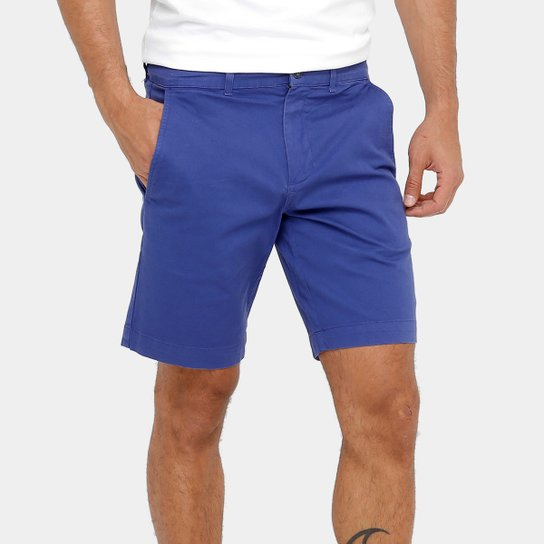 80cbac47367bb Bermuda Lacoste Regular Fit Sarja Color Masculina - Compre Agora ...