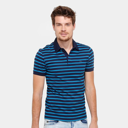 bed0e03c8 Camisa Polo Lacoste Piquet Listrada Slim Masculina - Compre Agora ...