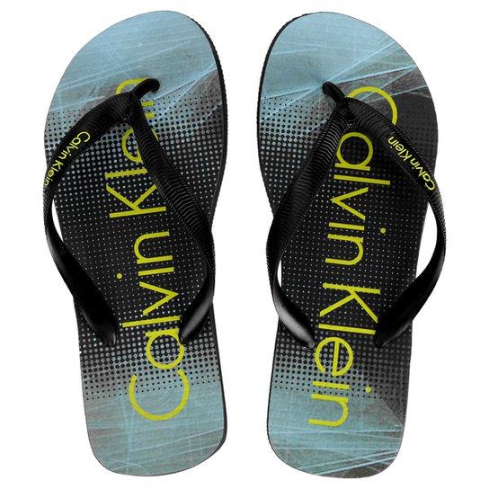 ed7066264 Chinelo Calvin Klein Estampado - Compre Agora   Netshoes