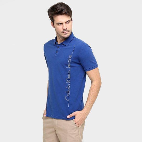 3258f76fe8 Camisa Polo Calvin Klein Piquet CK Jeans - Compre Agora