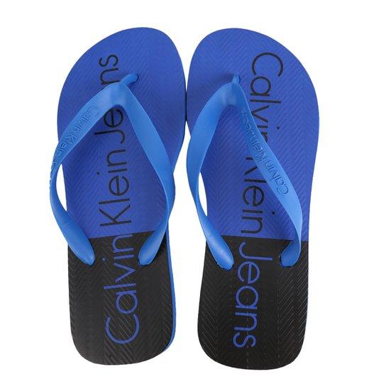 3127f249a Chinelo Calvin Klein Bicolor Masculino - Compre Agora   Netshoes