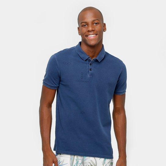 62fb8fe76 Camisa Polo Calvin Klein Piquet Tinturada Masculina - Compre Agora ...