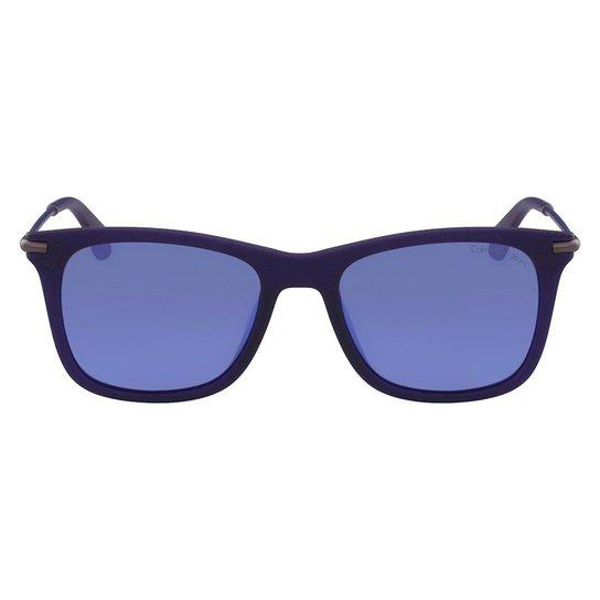 e2a06451d7722 Óculos de Sol Calvin Klein Jeans CKJ512S 465 54 - Azul - Compre ...