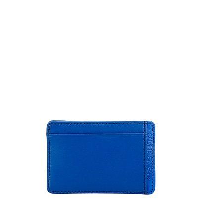 Carteira Couro Calvin Klein Porta Cartão Básica Masculina