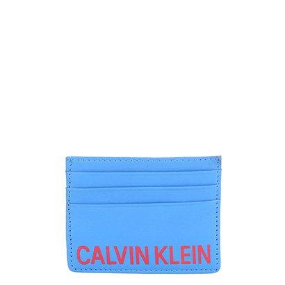 Carteira Couro Calvin Klein Bicolor Masculina
