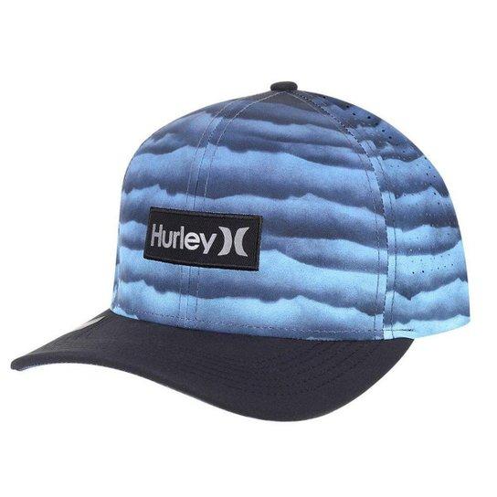 Boné Hurley Undertown Phantom - Azul - Compre Agora  01ce83e96bf