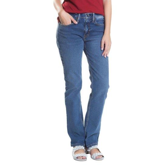 a1c63258a Calça Jeans Levi s 514 Straight Feminina - Compre Agora