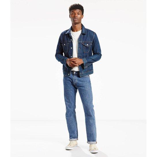 55399593aa Calça Jeans Levi s 501 Original Masculina - Azul - Compre Agora ...