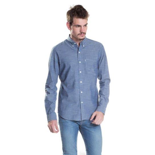 Camisa Levis Classic One Pocket - Azul - Compre Agora  d6dc0cd7545