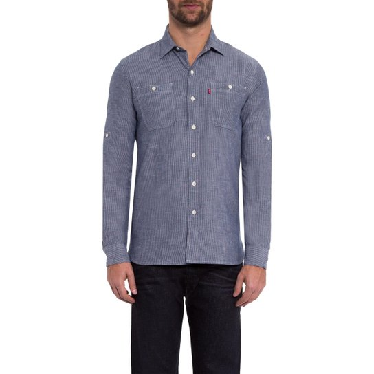 3e10c26870eb8 Camisa Classic Roll Sleeve Workshirt Levis - Compre Agora