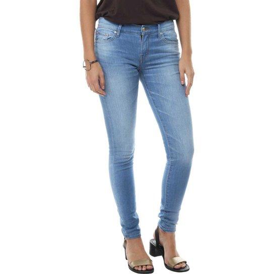 85de441027e0a Calça Jeans Levis Feminina 711 Skinny - Azul - Compre Agora