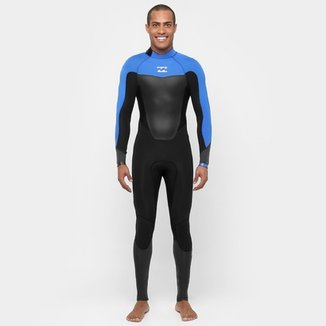 Long John Billabong Neoprene Absolute Comp 302 Full B/Z Masculino