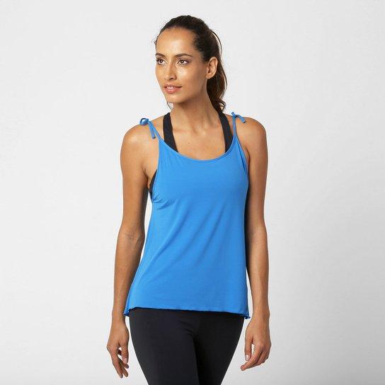 47ff9b735a Camiseta Regata Bodytech Outfit Fresh Feminina - Azul Turquesa ...