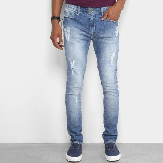 202ddec79 Calça Jeans Skinny Cavalera Estonada Masculina - Compre Agora | Netshoes