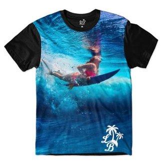 e72f1804fde41 Camiseta Br Shop Long Beach Lb Surfgirl Sublimada