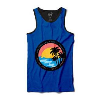 Camiseta Long Beach Regata Circulo Coqueiros Sublimada Masculina cf05efc84aa