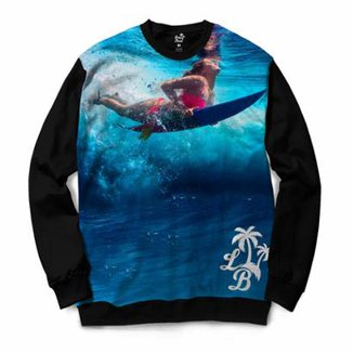 971ad872c Moletom Long Beach Surfgirl Masculino