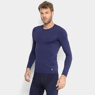 Camiseta Lupo Sport Com Proteção UV Manga Longa Masculina bc21d9c6803