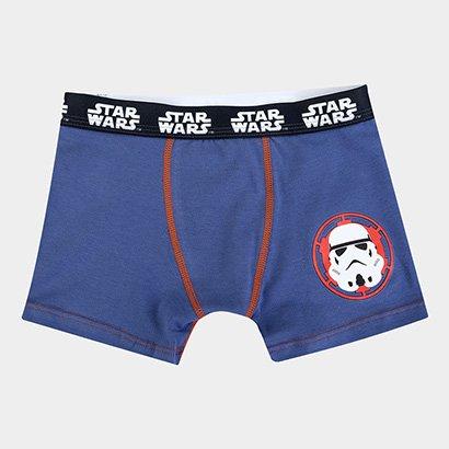 Cueca Infantil Lupo Boxer Estampa Star Wars