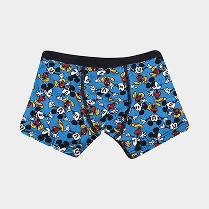 Cueca Boxer Infantil Lupo Disney Mickey Masculina
