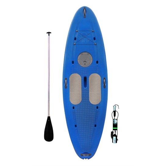c13fe5985 Prancha De Stand Up Star Sup Paddle Com Remo E Leash - Azul
