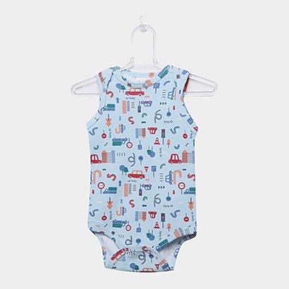 Body Infantil Up Baby Urbano Menino