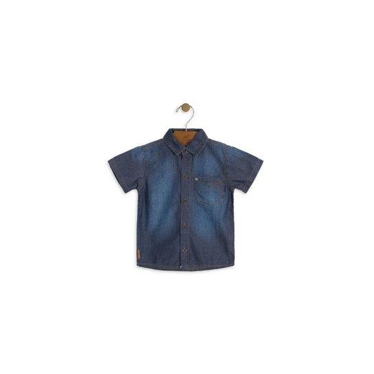 f863ddea1 Camisa Jeans Bebê Up Baby Masculina | Netshoes
