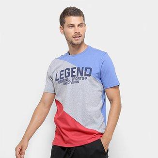 484a2702c Camiseta Burn Estampa Legend Masculina