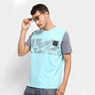 65cedfd357 Camiseta Mood Floral Masculina