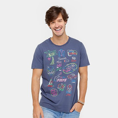Camiseta Colcci Stone Sunrise Springs Masculina