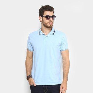 6e3b9a6fe09ce Camisa Polo Colcci Listras Masculina