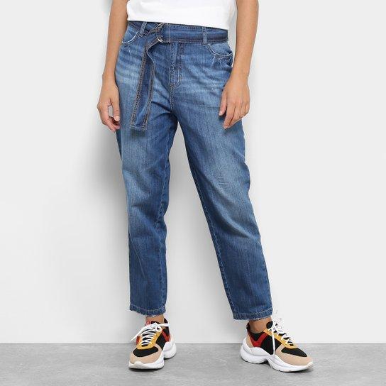 567c08bc6 Calça Jeans Colcci Comfort Cinto Feminina - Azul - Compre Agora ...
