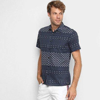 Camisa Colcci Classic Estampada Masculina