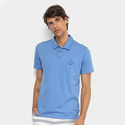 Camisa Polo Forum Malha Silk New Logo Masculina