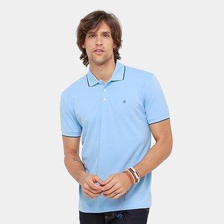 Camisa Polo Forum Piquet Básica Masculina 76fd870258fbe