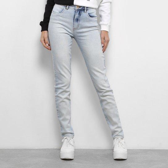 daff63e21 Calça Jeans Skinny Forum Marisa Cintura Média Feminina - Azul Claro