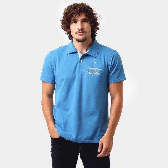 Camisa Polo Cruzeiro Podium Masculina - Compre Agora  05ea375205a91