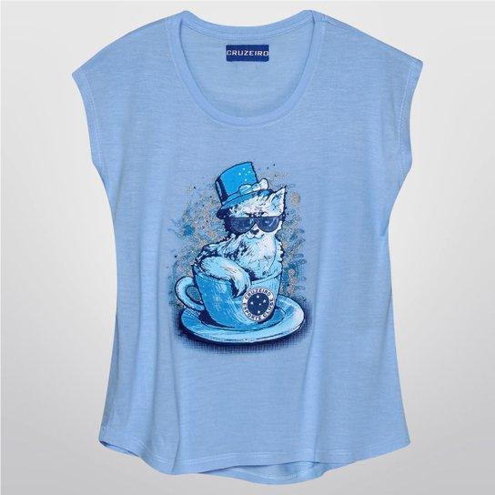 Camiseta Regata Infantil Cruzeiro Gato in The Cup Feminina - Compre ... c23823cf485