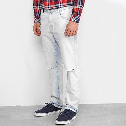 Calça Jeans Ellus Slim Destroyed Masculina