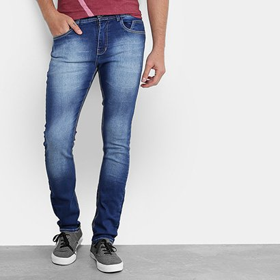 Calça Jeans Skinny Opera Rock Fit Estonada Masculina