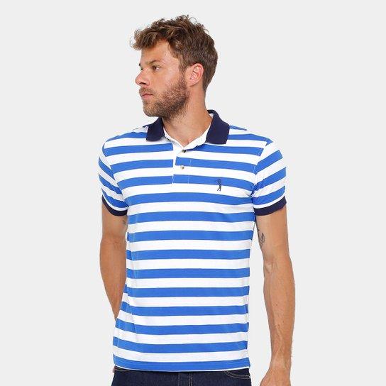 Camisa Polo Aleatory Fio Tinto Listras Masculina - Compre Agora ... 62fdba081c04b