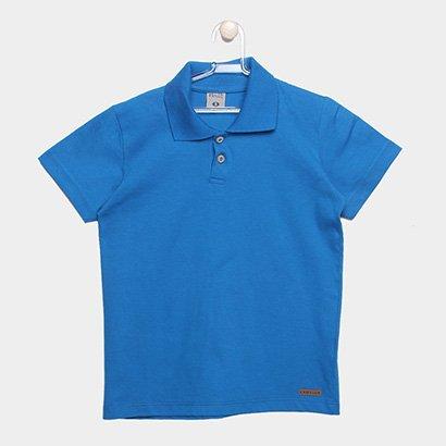 Camisa Polo Infantil Kamylus Básica Masculina