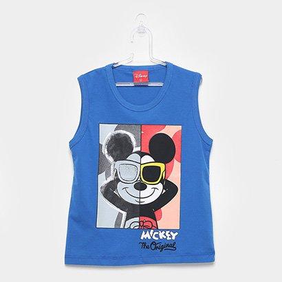 Regata Infantil Kamylus Meia Malha Mickey Mouse