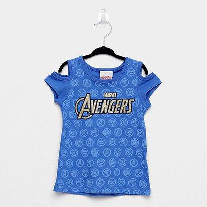 Blusa Infantil Brandili Avengers Feminina
