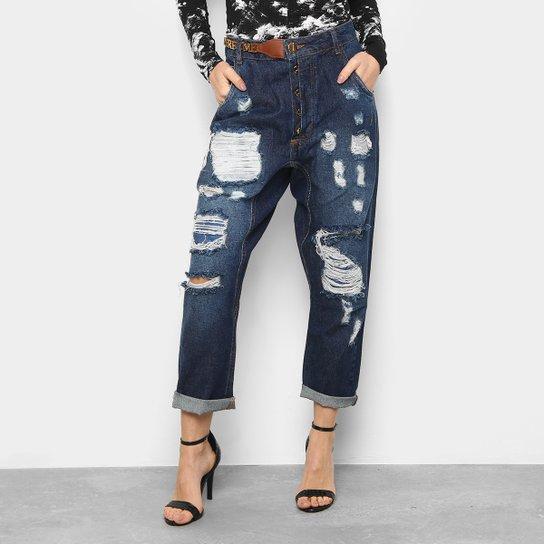 28824ab0e Calça Jeans Saruel Lança Perfume Destroyed Feminina | Netshoes