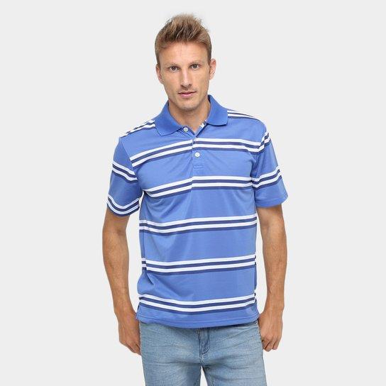 Camisa Polo Mosato Malha Listras Fio Tinto - Compre Agora  5856b51e8c71d