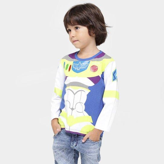 90c2950c47 Camiseta Fakini Toy Story Buzz Lightyear Infantil - Compre Agora ...