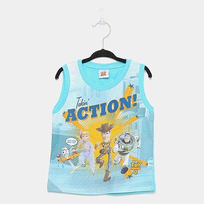 Regata Infantil Fakini Toy Story Action Masculina