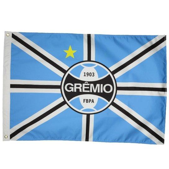 Bandeira Grêmio Tradicional 2 Panos - Azul - Compre Agora  280fa27ad4e60